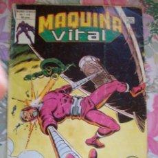 Cómics: MAQUINA VITAL Nº 6 VERTICE EL HOMBRE MAQUINA. Lote 163857282