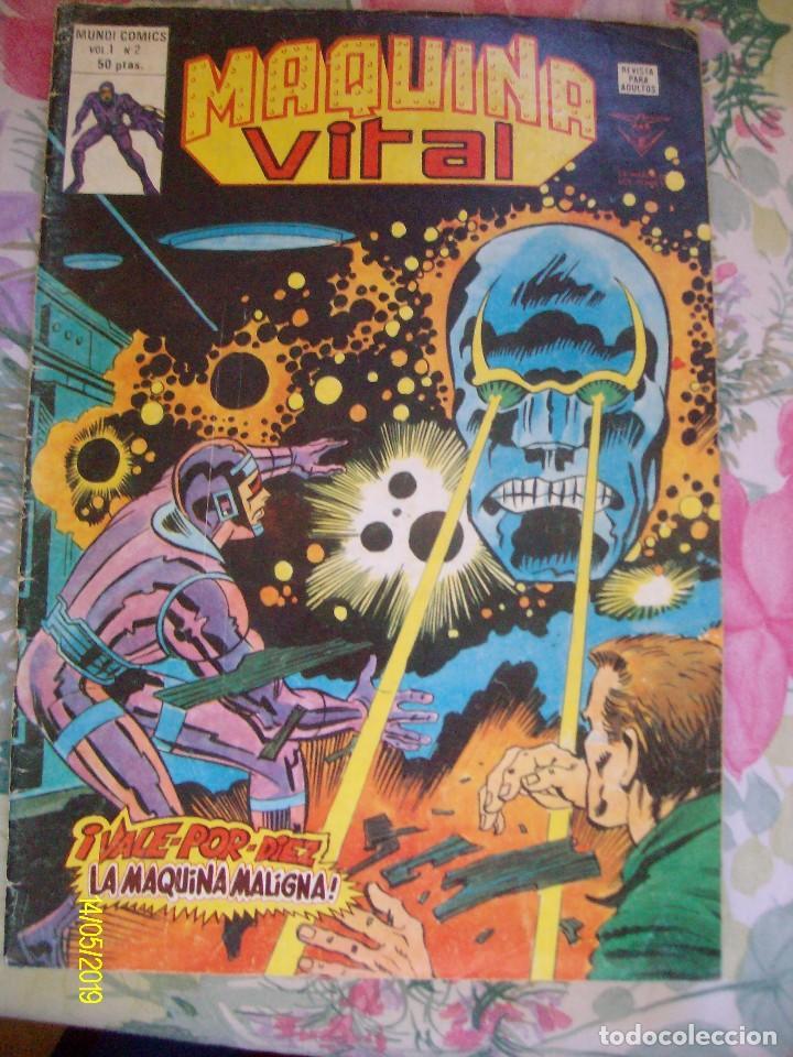 MAQUINA VITAL Nº 2 VERTICE EL HOMBRE MAQUINA (Tebeos y Comics - Vértice - V.1)