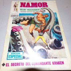 Cómics: NAMOR EL SECRETO DEL COMANDANTE KRAKRN NUMERO 12. Lote 163965254