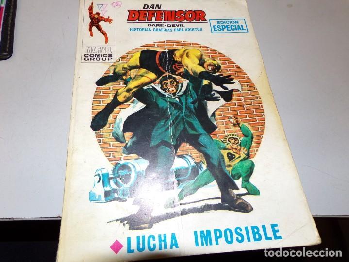 DAN DEFENSOR LUCHA IMPOSIBLE NUMERO 12 (Tebeos y Comics - Vértice - Dan Defensor)