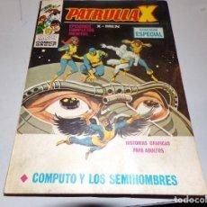 Cómics: PATRULLAX COMPUTO Y LOS SEMIHOMBRES NUMERO 21. Lote 163973722