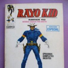 Cómics: RAYO KID Nº 1 VERTICE TACO ¡¡¡¡ BASTANTE BUEN ESTADO !!!!. Lote 163986594
