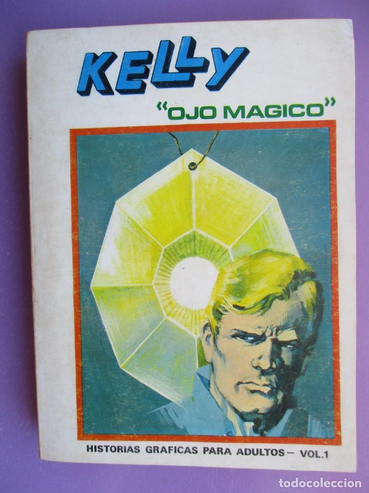 KELLY OJO MAGICO Nº 1 VERTICE TACO ¡¡¡¡ BUEN ESTADO !!!! (Tebeos y Comics - Vértice - V.1)