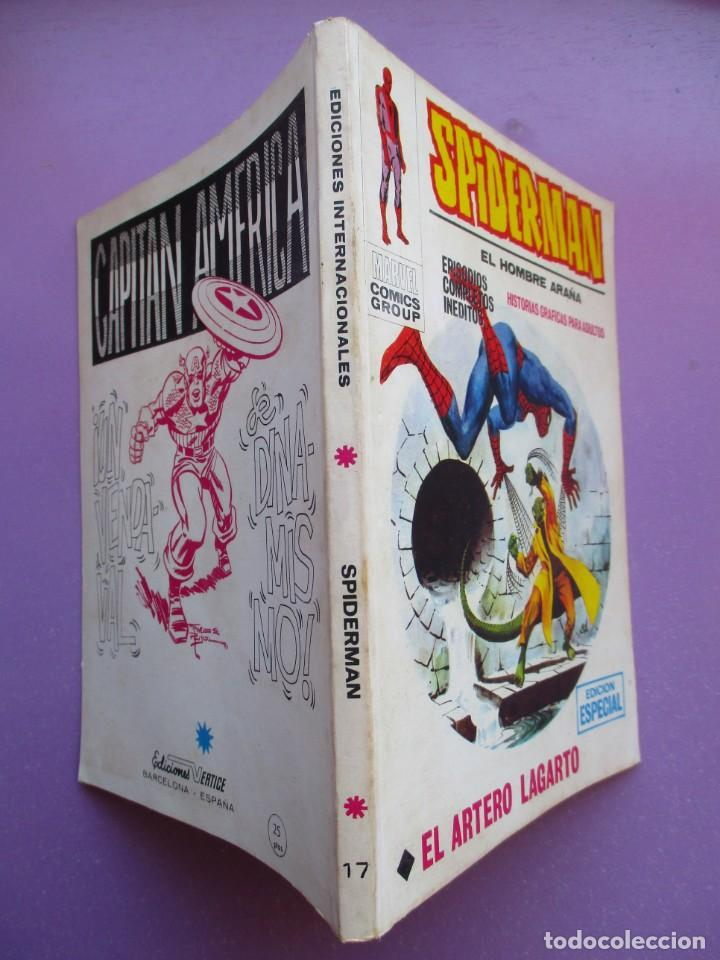 Cómics: SPIDERMAN Nº 17 VERTICE ¡¡¡ MUY BUEN ESTADO !!!! 1ª EDICION - Foto 3 - 164221914