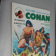 Cómics: CONAN ANUAL 80 Nº 1 / VÉRTICE 1979. Lote 164581578