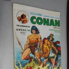 Cómics: CONAN ANUAL 80 Nº 1 / VÉRTICE 1979. Lote 164581622