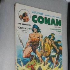 Cómics: CONAN ANUAL 80 Nº 1 / VÉRTICE 1979. Lote 164581742