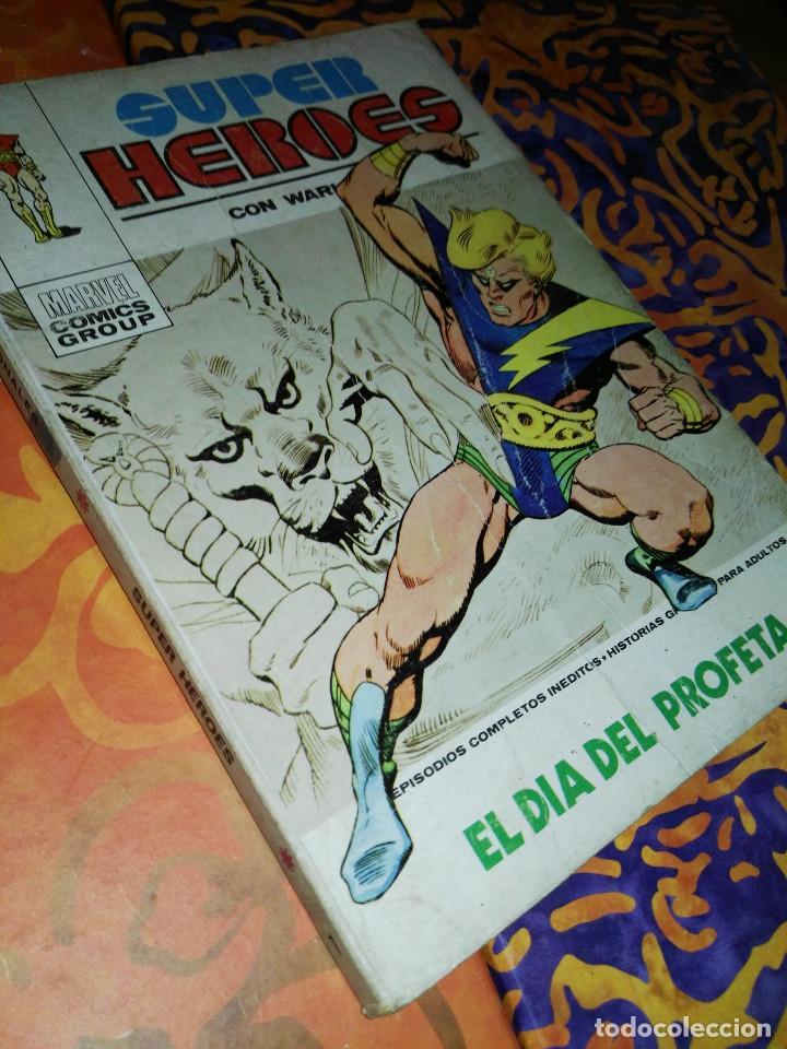 SUPER-HEROES NÚMERO 1 WARLOCK (Tebeos y Comics - Vértice - V.1)