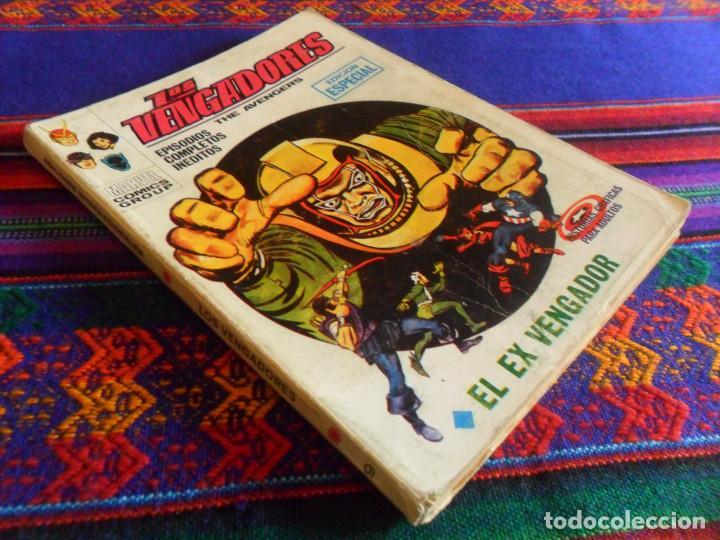 VÉRTICE VOL. 1 LOS VENGADORES Nº 9 EL EX VENGADOR. 1970. 25 PTS. DIFÍCIL. (Tebeos y Comics - Vértice - Vengadores)