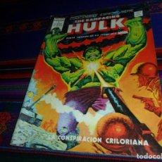 Cómics: VÉRTICE MUNDI CÓMICS ESPECIAL VOL. 1 THE RAMPAGING HULK LA MASA Nº 1. 1976. 65 PTS. MBE REGALO Nº 14. Lote 164796306
