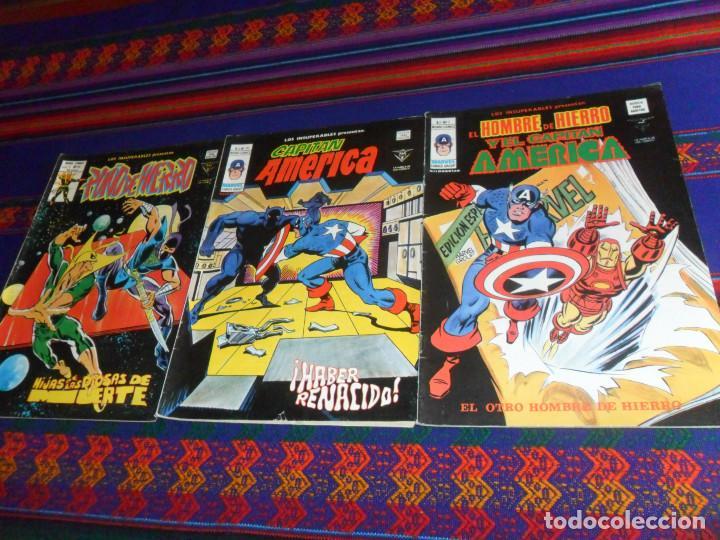 VÉRTICE MUNDI CÓMICS VOL. 1 LOS INSUPERABLES NºS 7 19 24. 40 PTS. 1978. BUEN ESTADO. (Tebeos y Comics - Vértice - Surco / Mundi-Comic)