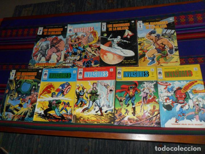 VÉRTICE MUNDI CÓMICS VOL. 1 SELECCIONES MARVEL NºS 8 15 16 17 33 34 35 43 47. 35 PTS. 1977. MBE. (Tebeos y Comics - Vértice - Surco / Mundi-Comic)