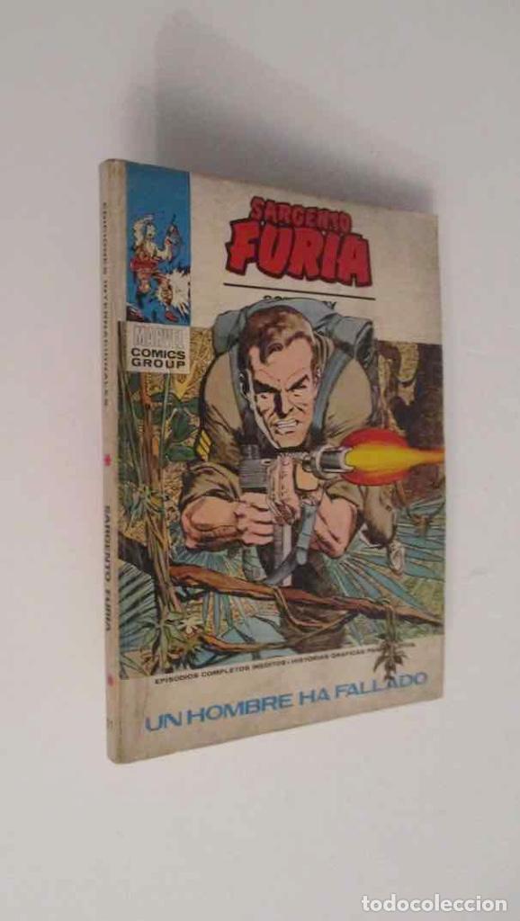 COMIC: SARGENTO FURIA - Nº 11 (Tebeos y Comics - Vértice - Furia)