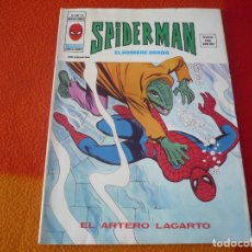 Cómics: SPIDERMAN VOL. 3 Nº 22 ¡BUEN ESTADO! MUNDI COMICS VERTICE MARVEL VOLUMEN EL ARTERO LAGARTO. Lote 164887858