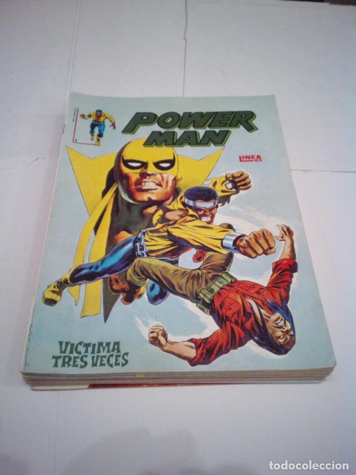 POWER MAN - VERTICE - SURCO - COLECCION COMPLETA - MUY BUEN ESTADO - CJ 27 - GORBAUD (Tebeos y Comics - Vértice - Surco / Mundi-Comic)