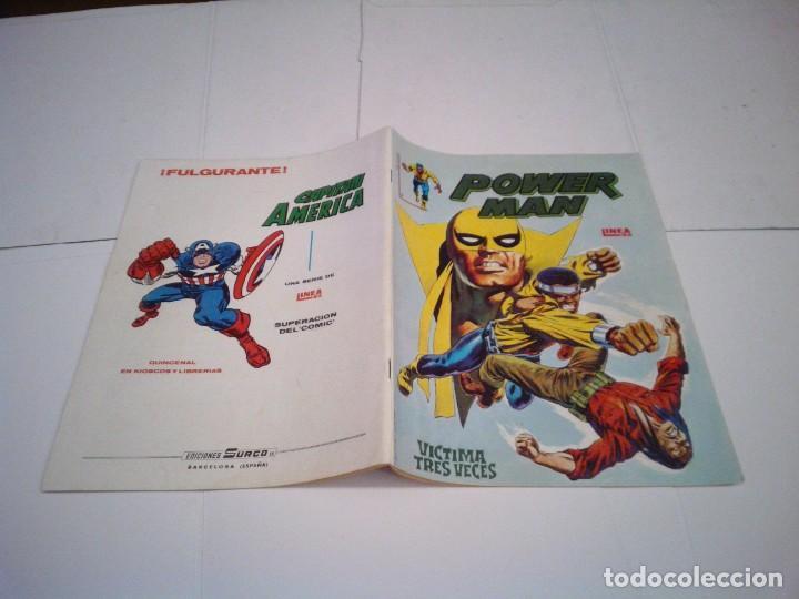 Cómics: POWER MAN - VERTICE - SURCO - COLECCION COMPLETA - MUY BUEN ESTADO - CJ 27 - GORBAUD - Foto 3 - 164900466