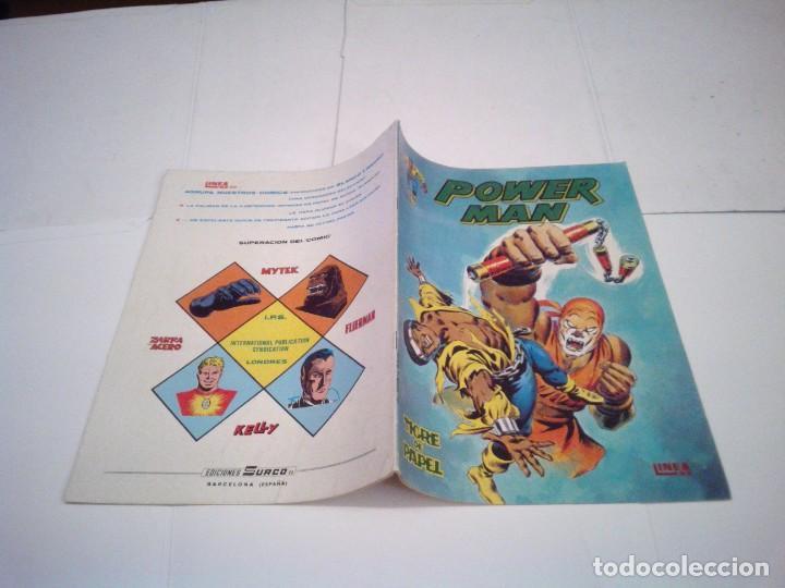 Cómics: POWER MAN - VERTICE - SURCO - COLECCION COMPLETA - MUY BUEN ESTADO - CJ 27 - GORBAUD - Foto 5 - 164900466