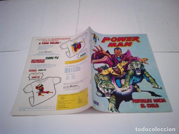 Cómics: POWER MAN - VERTICE - SURCO - COLECCION COMPLETA - MUY BUEN ESTADO - CJ 27 - GORBAUD - Foto 6 - 164900466