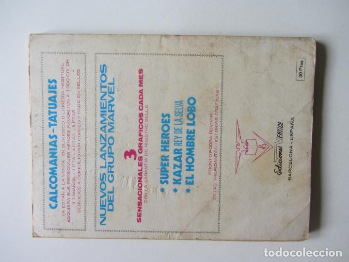 Cómics: KAZAR KA ZAR KA-ZAR Nº 1 1973.VOL 1 (VERTICE) TACO BUEN ESTADOEt - Foto 2 - 164918198