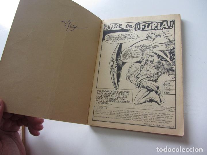 Cómics: KAZAR KA ZAR KA-ZAR Nº 1 1973.VOL 1 (VERTICE) TACO BUEN ESTADOEt - Foto 3 - 164918198