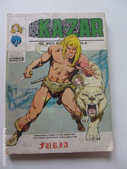 KAZAR KA ZAR KA-ZAR Nº 1 1973.VOL 1 (VERTICE) TACO BUEN ESTADOET (Tebeos y Comics - Vértice - V.1)