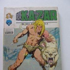 Cómics: KAZAR KA ZAR KA-ZAR Nº 1 1973.VOL 1 (VERTICE) TACO BUEN ESTADOET. Lote 164918198