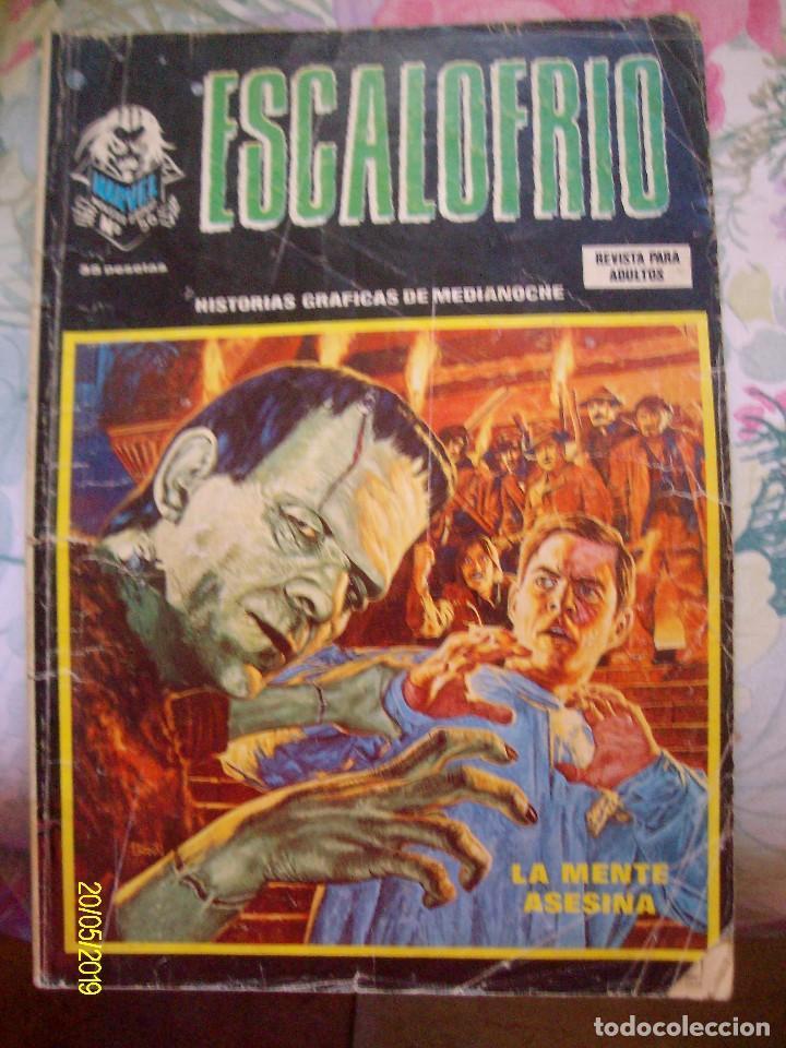 ESCALOFRIO Nº 56 VERTICE CON EL HIJO DE SATAN (Tebeos y Comics - Vértice - Terror)