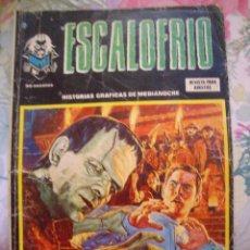 Cómics: ESCALOFRIO Nº 56 VERTICE CON EL HIJO DE SATAN. Lote 165013022