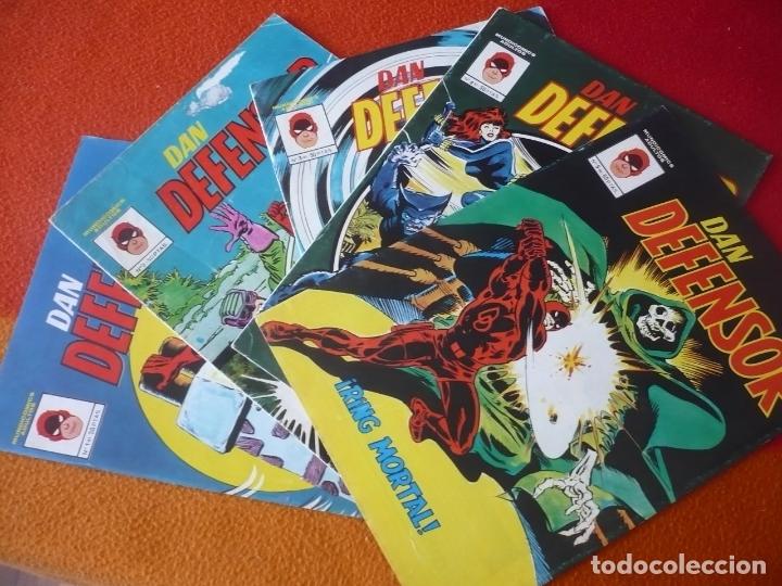 DAN DEFENSOR NºS 1, 2, 3, 4 Y 5 MUNDI COMICS VERTICE DAREDEVIL TRAICION PRISIONERA ARENA RING MORTAL (Tebeos y Comics - Vértice - Hombre de Hierro)