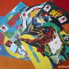 Cómics: DAN DEFENSOR NºS 1, 2, 3, 4 Y 5 MUNDI COMICS VERTICE DAREDEVIL TRAICION PRISIONERA ARENA RING MORTAL. Lote 165292898