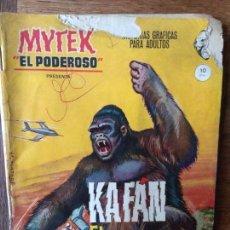 Cómics: MYTEK, EL PODEROSO Nº 6 - GRAPA 1º COMICS VERTICE -. Lote 165344386