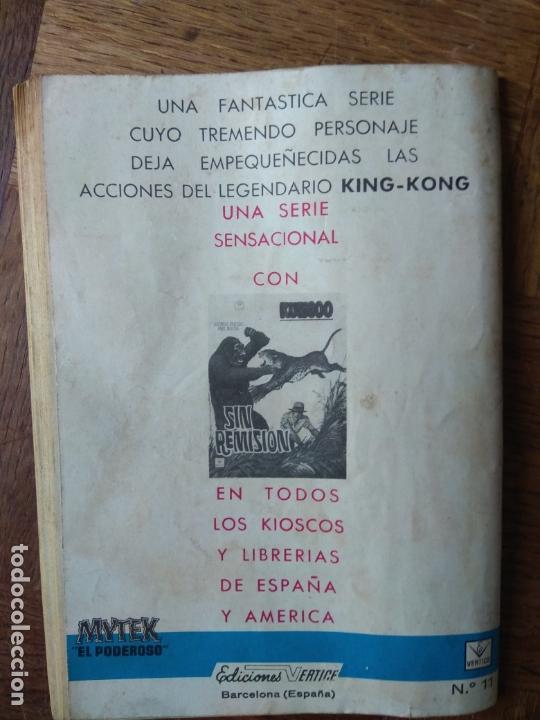 Cómics: MYTEK, EL PODEROSO Nº 11 - GRAPA 1º COMICS VERTICE - - Foto 2 - 165344718