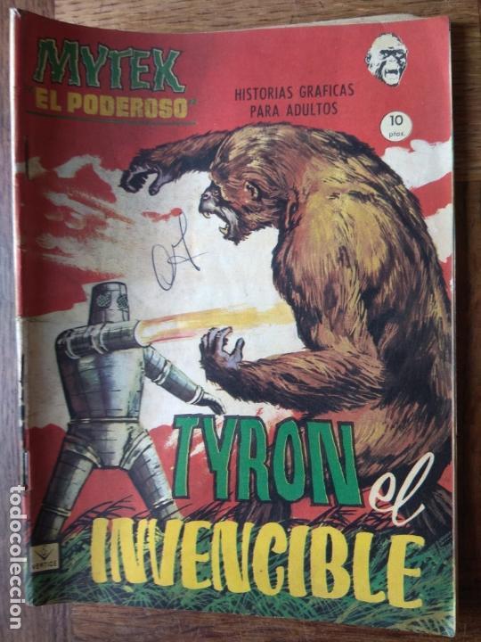 MYTEK, EL PODEROSO Nº 11 - GRAPA 1º COMICS VERTICE - (Tebeos y Comics - Vértice - Grapa)