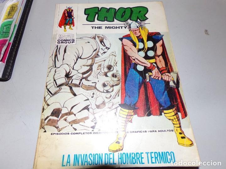 THOR LA INVASION DEL HOMBRE TERMICO NUMERO 30 (Tebeos y Comics - Vértice - Thor)