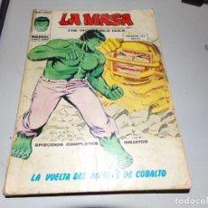 Cómics: LA MASA LA VUELTA DEL HOMBRE DE COBALTO NUMERO 35. Lote 165361770