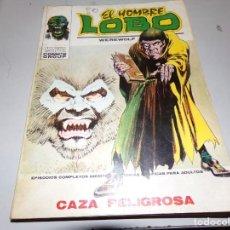 Cómics: EL HOMBRE LOBO CAZA PELIGROSA NUMERO 3. Lote 165365478