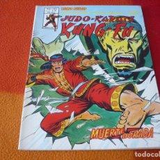 Comics : JUDO KARATE KUNG-FU VOL. 2 Nº 10 MUNDI COMICS VERTICE RELATOS SALVAJES SHANG CHI MUERTE DORADA. Lote 165428982
