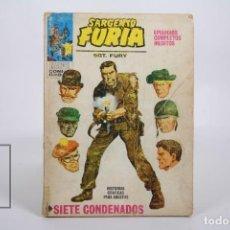 Cómics: CÓMIC - SARGENTO FURIA / SIETE CONDENADOS - Nº 1 - EDICIONES VERTICE - AÑO 1972. Lote 165482814