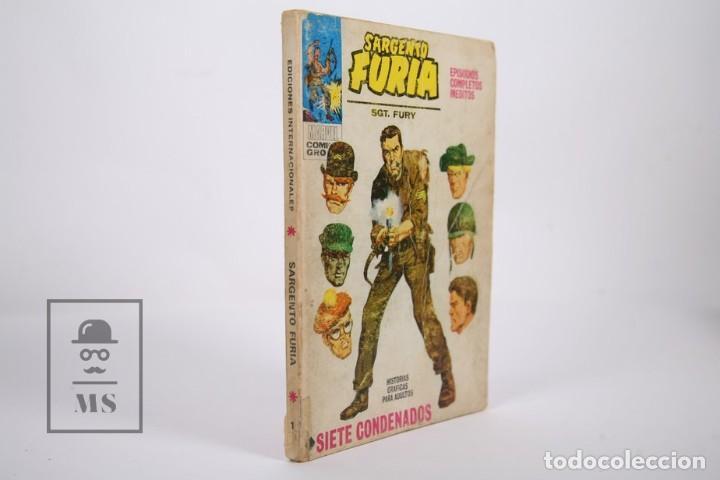 Cómics: Cómic - Sargento Furia / Siete Condenados - Nº 1 - Ediciones Vertice - Año 1972 - Foto 2 - 165482814
