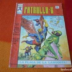 Cómics: PATRULLA X VOL. 3 Nº 12 MUNDI COMICS VERTICE MARVEL LA PLAGA DE LA LANGOSTA. Lote 165488798