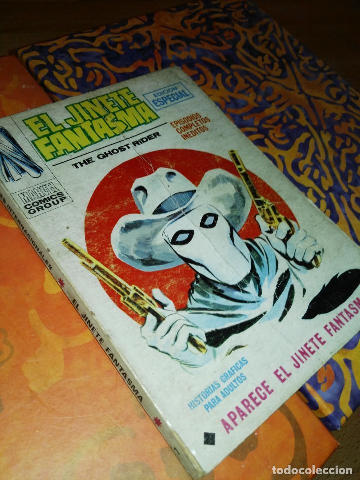 JINETE FANTASMA NÚMERO 1 (Tebeos y Comics - Vértice - V.1)