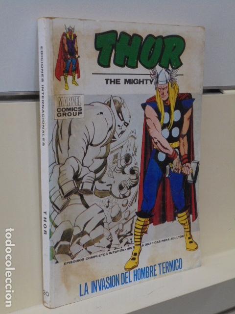THOR VERTICE VOL. 1 Nº 30 LA INVASION DEL HOMBRE TERMICO - TACO (Tebeos y Comics - Vértice - Thor)