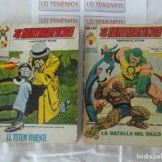 Cómics: LOS 4 FANTÁSTICOS Nº40,Nº66. Lote 165952606