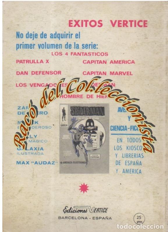 Cómics: EL HOMBRE DE HIERRO (IRON MAN), VERTICE VOLUMEN 1, N. 9, EL RELEVO DEL HOMBRE DE HIERRO - Foto 2 - 36127874
