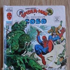 Comics: SUPER HEROES PRESENTA SPIDERMAN Y EL HOMBRE COSA V.2 Nº 38 MUNDI COMICS VERTICE SPIDER-MAN MARVEL. Lote 166563018