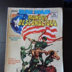 Cómics: RELATOS SALVAJES CIENCIA FICCION MUNDOS DESCONOCIDOS VERTICE V1 Nº 4. Lote 166634590