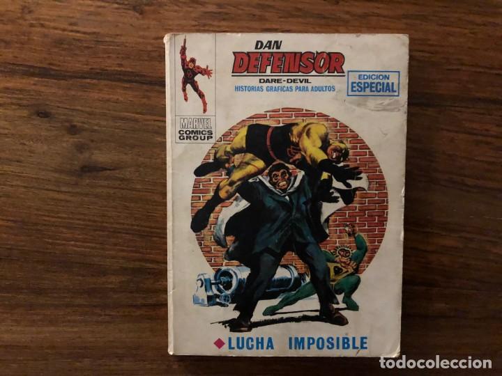 DAN DEFENSOR DARE DEVIL Nº 12 . LUCHA IMPOSIBLE. MARVEL. EDICIONES VERTICE (Tebeos y Comics - Vértice - Dan Defensor)