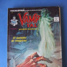 Cómics: ESCALOFRIO Nº 35 PRESENTA VAMPIRE TALES Nº 9 VERTICE. Lote 166756090