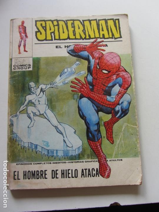 SPIDERMAN - Nº 40 - VERTICE VOL 1 - ¡ EL HOMBRE DE HIELO ATACA . TACO. ET (Tebeos y Comics - Vértice - V.1)