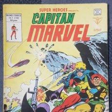 Cómics: SUPER HEROES VOL.2 #132 (VERTICE, 1980) CAPITÁN MARVEL. Lote 166837338